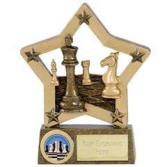 Economy Star Chess Trophy N02039-GW