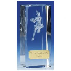 CLARITY NETBALL CRYSTAL AWARD