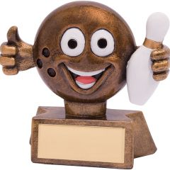 SMILER TEN PIN BOWLING TROPHY RF18080-TSA