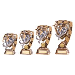 EUPHORIA FEMALE FOOTBALL TROPHY RF19067-TSA