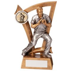 Male Resin Fielder Cricket Trophy RF173-TD