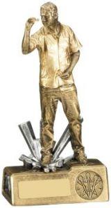 Male Darts Figure Trophy RM731-GW