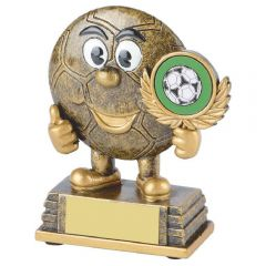FOOTBALL FACE TROPHY RS282-TWT