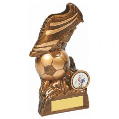 FOOTBALL BOOT & BALL TROPHY RS903-TWT