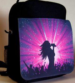 Child medium rucksack with detachable flap