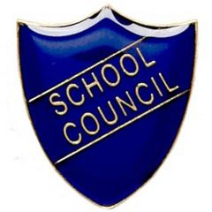 School Council Shield Badge SB011-GW