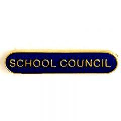 School Council Bar Badge SB012-GW