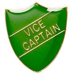 Vice Captain shield Badge SB014-GW