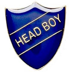 Head Boy Shield Badge SB017-GW