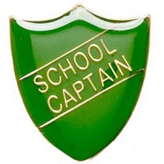 School Captain Shield Badge SB028-GW