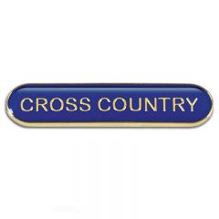 Cross Country Bar Badge SB053-GW